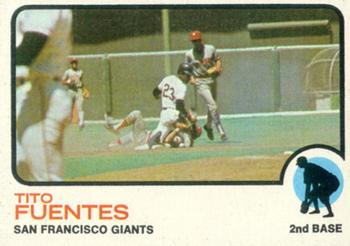 1973 Topps #236 Tito Fuentes Front