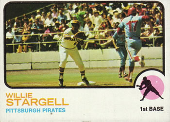 1973 Topps #370 Willie Stargell Front