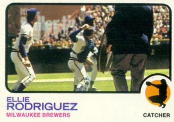 1973 Topps #45 Ellie Rodriguez Front