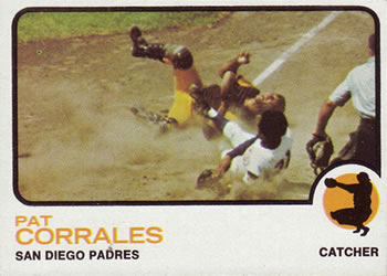 1973 Topps #542 Pat Corrales Front