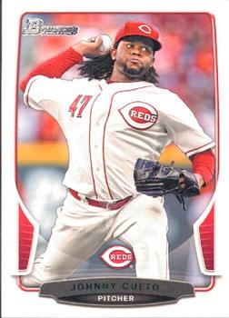 2013 Bowman #10 Johnny Cueto Front