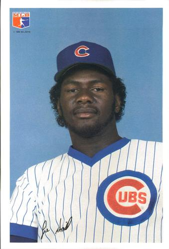1984 Jewel Foods Chicago Cubs #12 Lee Smith Front
