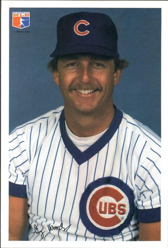 1984 Jewel Foods Chicago Cubs #16 Gary Woods Front