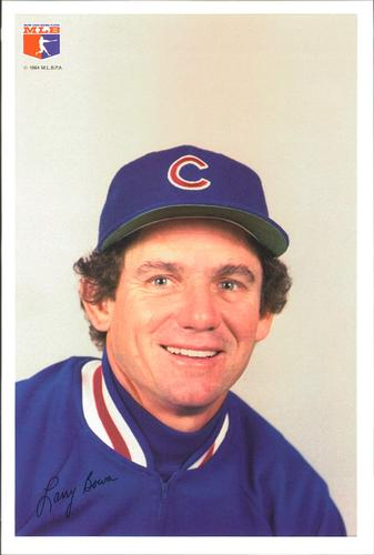 1984 Jewel Foods Chicago Cubs #1 Larry Bowa Front