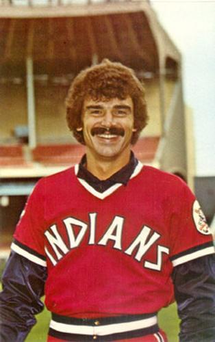premium selection e8cf8 ec01b 1976 Cleveland Indians Postcards #p1555 Don Hood | The ...