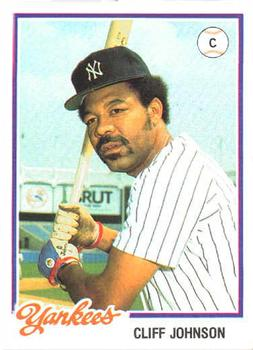 Image result for cliff johnson yankees