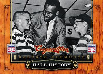 2012 Panini Cooperstown - Hall History #6 Roberto Clemente Front