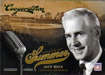 2012 Panini Cooperstown - Voices of Summer #4 Jack Buck Front