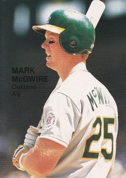 1987 Broder Rookies (Cartoon Back, unlicensed) #16 Mark McGwire Front