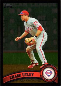 2011 Topps - Wal-Mart Black Border #214 Chase Utley Front