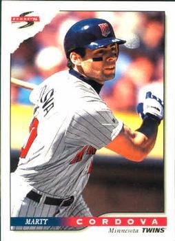 1996 Score #299 Marty Cordova Front