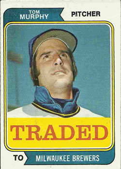 1974 Topps Traded #496T Tom Murphy Front