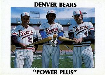 1978 Tiefel & Associates Denver Bears #NNO Frank Ortenzio / Bobby Pate / Rick Renick Front