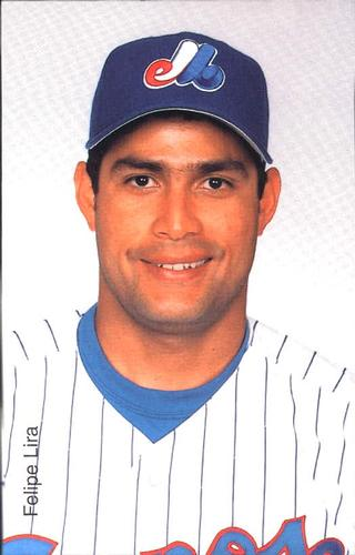 2001 Montreal Expos Postcards #15 Felipe Lira - 75492-15Fr