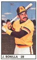 1982 All-Star Game Program Inserts #NNO Juan Bonilla Front