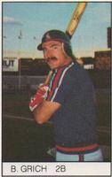 1984 All-Star Game Program Inserts #NNO Bobby Grich Front
