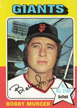 1975 Topps #350 Bobby Murcer Front