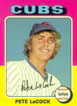 1975 Topps #494 Pete LaCock Front