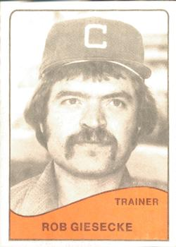 1979 TCMA Clinton Dodgers #21 Rob Giesecke Front
