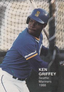 1988 Rookies Series IV (unlicensed) #9 Ken Griffey Jr. Front
