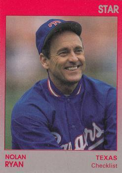 1991 Star Nolan Ryan Baseball Gallery The Trading Card
