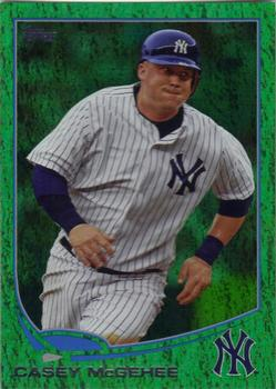 2013 Topps - Emerald #114 Casey McGehee Front