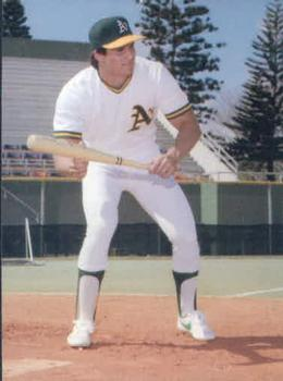 1986 Card Collectors Company Canseco #2 Jose Canseco / In Bunting Pose Front