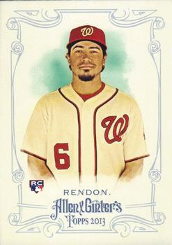 2013 Topps Allen & Ginter #152 Anthony Rendon Front