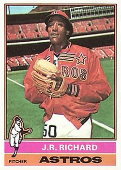 1976 Topps #625 J.R. Richard Front