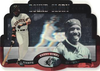 1996 SPx - Bound for Glory #3 Barry Bonds Front
