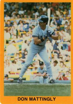 1989 Golden Superstars (unlicensed) #8 Don Mattingly Front