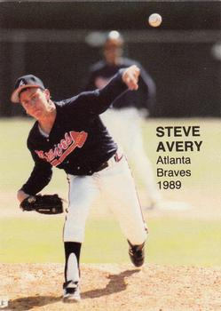 1989 Rookie Fever Series I (unlicensed) #2 Steve Avery Front