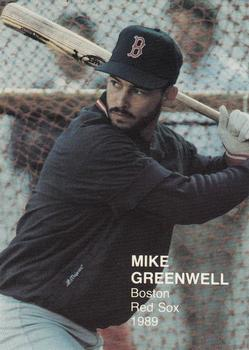 1989 Baseball's Top Twenty (unlicensed) #3 Mike Greenwell Front
