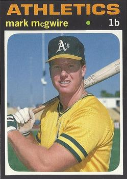 Mark Mcgwire Gallery The Trading Card Database
