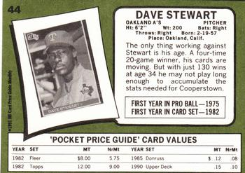 1991 SCD Baseball Card Price Guide Monthly Pocket Price