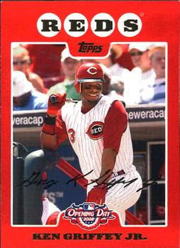 2008 Topps Opening Day Baseball 7 Checklist The Trading