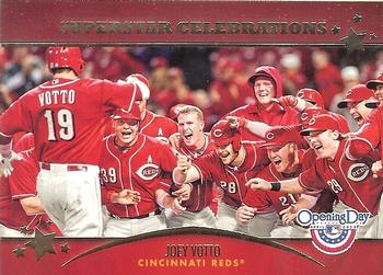 2013 Topps Opening Day - Superstar Celebrations #SC-4 Joey Votto Front