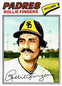 1977 Topps #523 Rollie Fingers Front