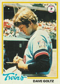 1978 Topps #249 Dave Goltz Front