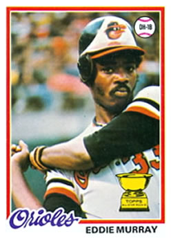 1978 Topps #36 Eddie Murray Front