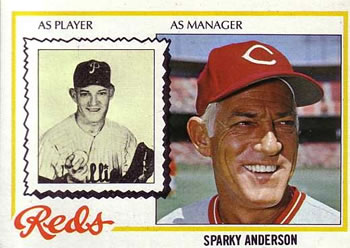 1978 Topps #401 Sparky Anderson Front
