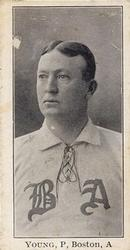 1903-04 Breisch-Williams (E107) #NNO Cy Young Front