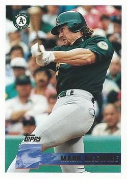 1996 Topps #145 Mark McGwire Front
