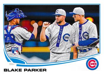 2013 Topps Update #US172 Blake Parker Front