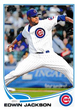 2013 Topps Update #US270 Edwin Jackson Front