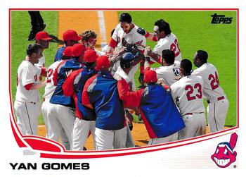 2013 Topps Update #US302 Yan Gomes Front
