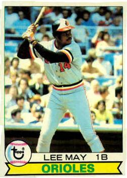 1979 Topps #10 Lee May Front