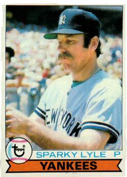 1979 Topps #365 Sparky Lyle Front