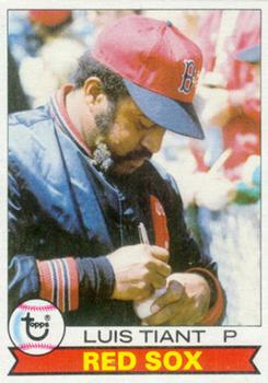 1979 Topps #575 Luis Tiant Front
