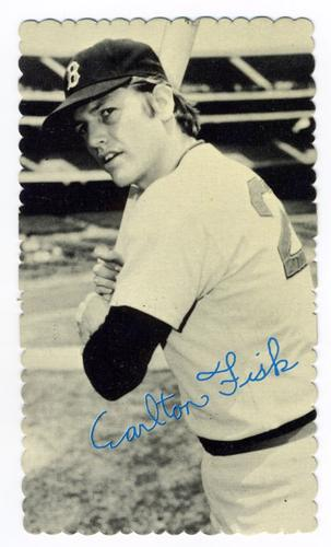 1974 Topps Deckle Edge #64 Carlton Fisk Front